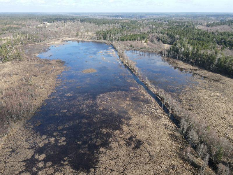 Förstudie om att restaurera utdikad sjö