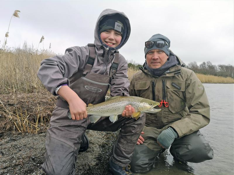 Succé för havsöringsfiske för juniorer på Gotland