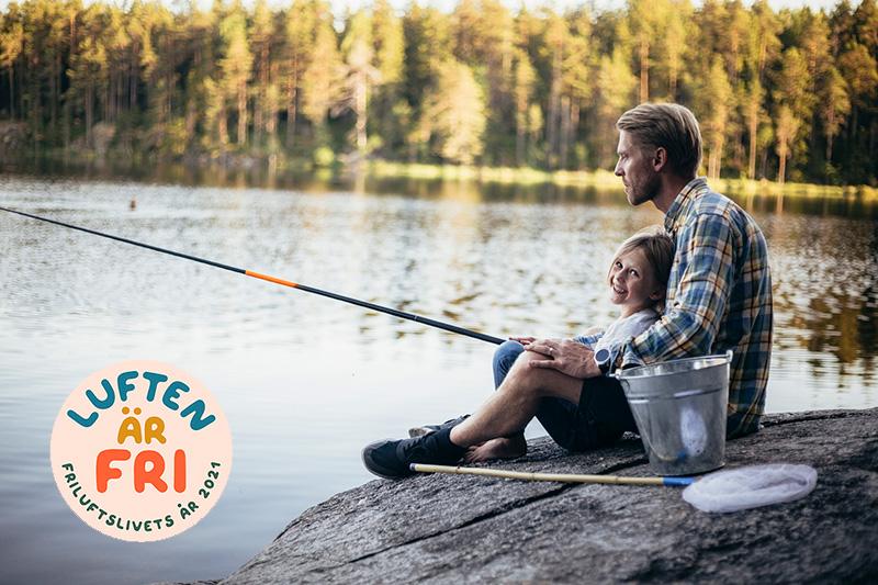 Hjälp till med gratis fiske på första metardagen