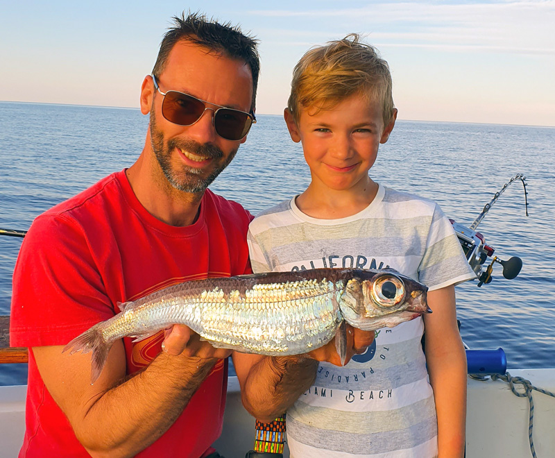 Sportfiskerekord till havs – två djuphavsarter