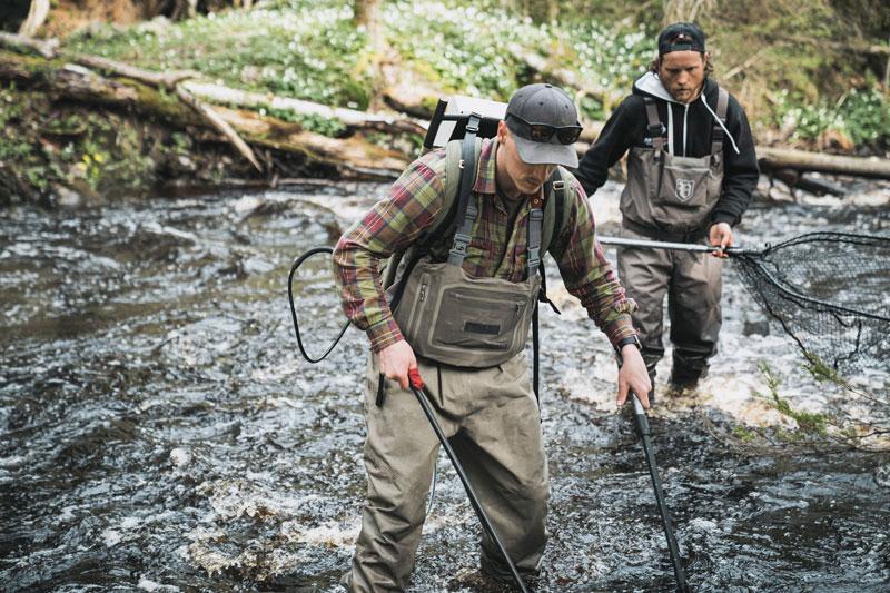 Sportfiskarna jobbar för den hotade harren i Vättern