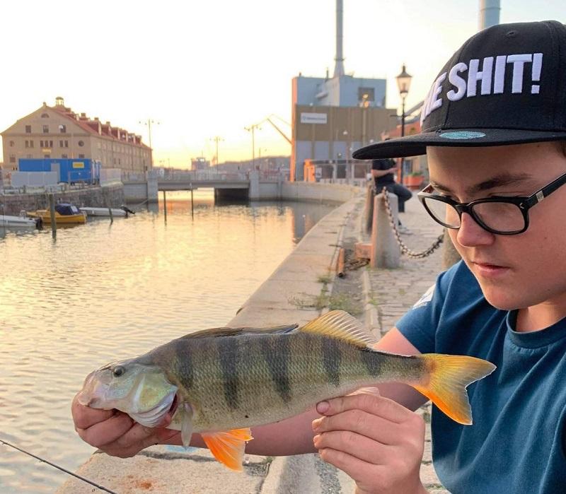 Fiskeutmaning för juniorer till helgen!