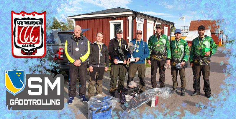 Första SM-tävlingen i Gäddtrolling