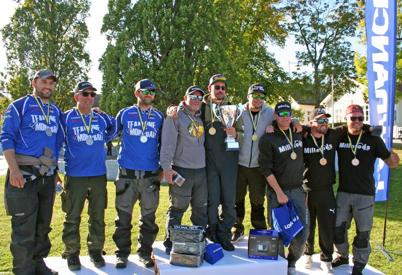 Swedish Perch Mafia vann vårt första SM i Abborre