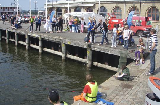 Stort intresse för fisket i Göteborg