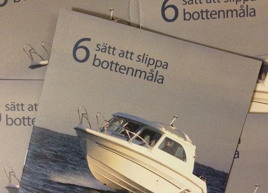 Informationsträffar för dig som vill sluta bottenmåla din båt