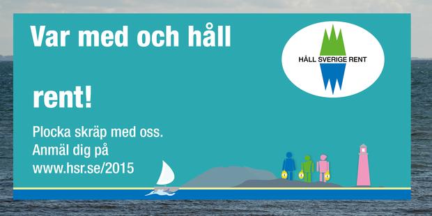 Rädda kusten från skräp med Håll Sverige Rent!
