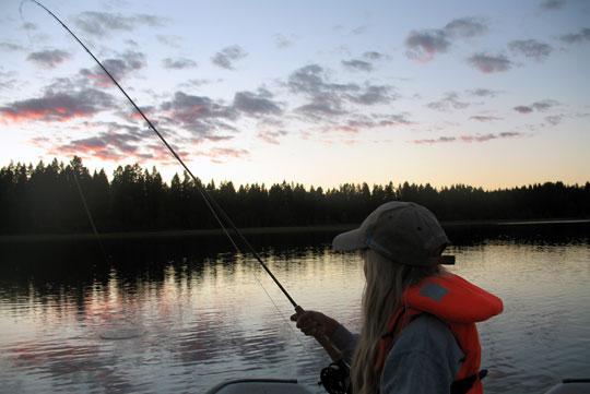 Sävenfors arrangerar fiskeläger