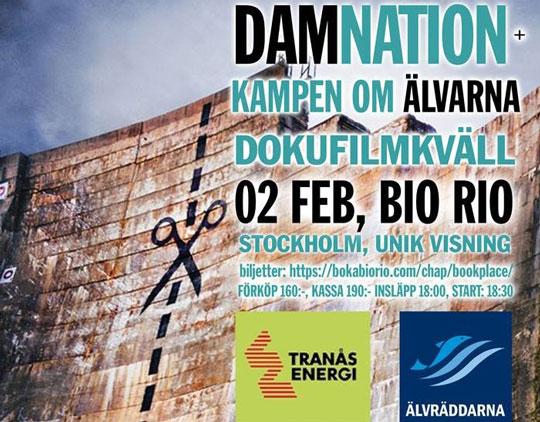 """Se """"Damnation"""" och """"Kampen om Älvarna"""" på Bio Rio!"""