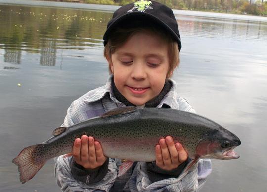 Fiske på Skansen med Sportfiskarna