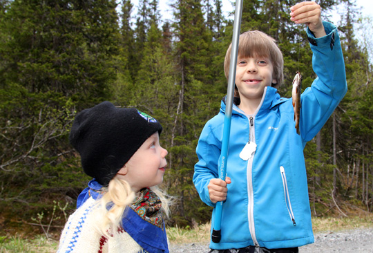 Ta med barnen på fiske i sommar!