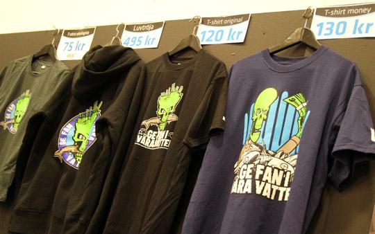 Stöd fiskevården - köp en tröja!