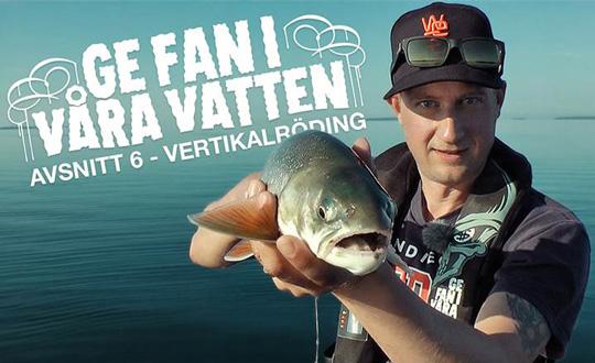 Häng med Erik på rödingfiske i Vättern!