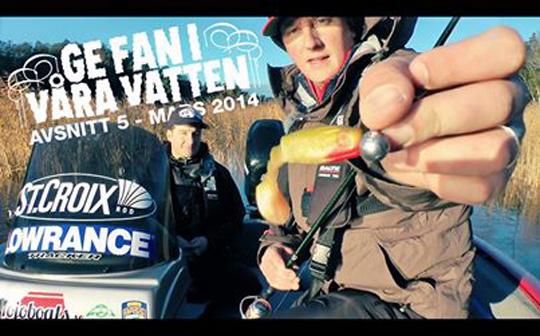 Se ny film med Ge fan i våra vatten!