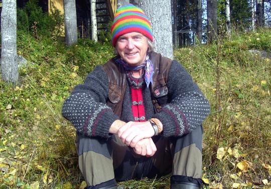 Gunnar Westrin räddar laxen