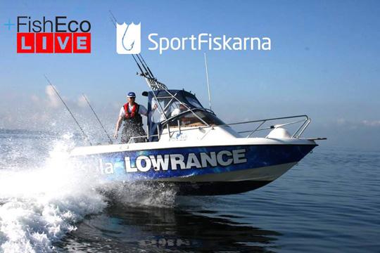 LIVEfiske i Öresund med Markus Lundgren