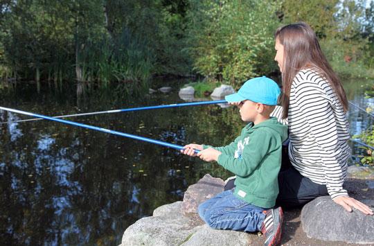 Fiske på Skansen för alla barn