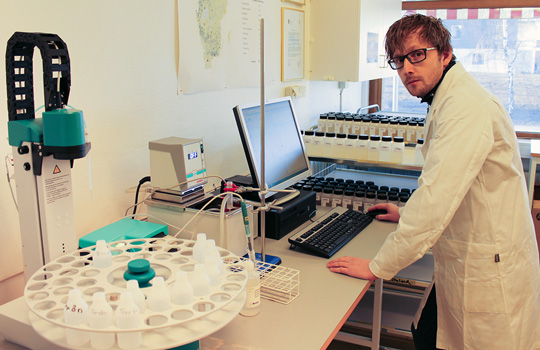 Länsstyrelsen i Jämtlands län installerar ny analysutrustning för pH-mätning