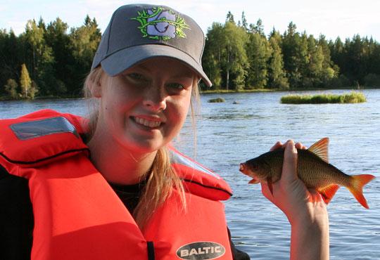 Nytt fiskeläger för tjejer